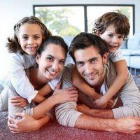 Familienglück in den eigenen vier Wänden